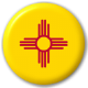 New Mexico State Flag 25mm Pin Button Badge